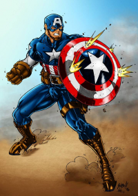 Captain America from Billy Van