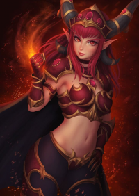 Alexstrasza from Umigraphics