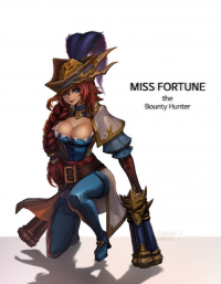 Miss Fortune from anaky