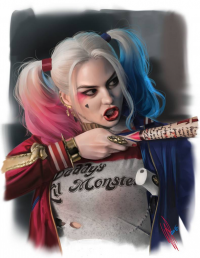 Harley Quinn from Art of Warren Louw