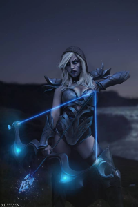 Unknown Female Artist as Drow Ranger