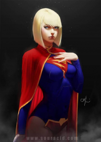 Supergirl from Souracid