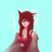 Ahri from Brandon V