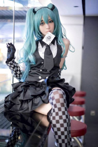 Foriko as Miku Hatsune