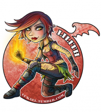 Lilith from Lukael-Art
