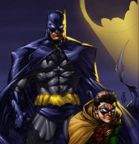 Batman, Robin from Marcus Odoms