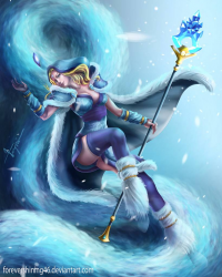 Crystal Maiden from forevershining46