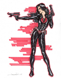 The Baroness from Aaron Lopresti