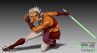 Ahsoka Tano from Phillip Matias