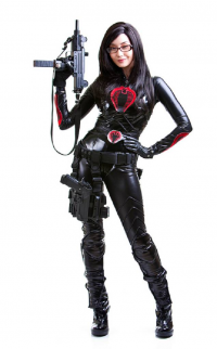 Alodia Gosiengfiao as The Baroness
