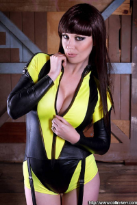 Lady Jaded as Silk Spectre II