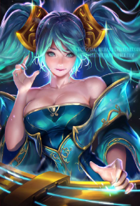 Sona from Sakimi Chan