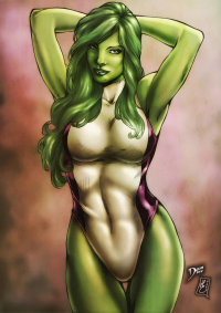 She-Hulk from Henrique