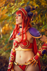 Elithia as Alexstrasza