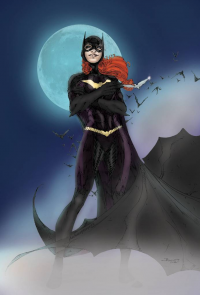 Batgirl from archaeopteryx14