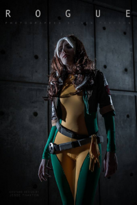 Jesse Thaxton as Rogue