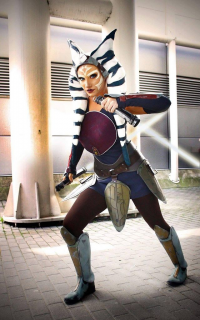 Daisy Cosplay as Ahsoka Tano