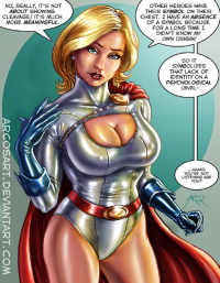 Power Girl from ArcosArt