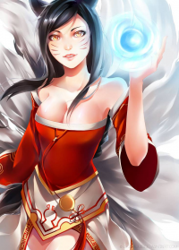 Ahri from Akaiyuue
