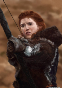 Ygritte from flylen