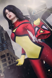 Florencia Jillian Sofen as Spider-Woman