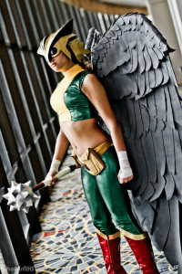 GinaB Cosplay as Hawkgirl