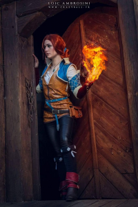 Stunt-Sheep Cosplay as Triss Merigold