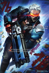Soldier: 76 from Yanimatorart