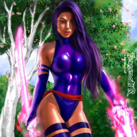 Psylocke from Fernando Neves Rocha