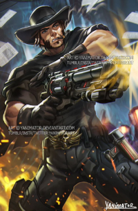 McCree from Yanimatorart