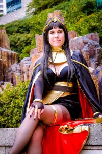 Duo Queue Cosplay as Tharja