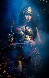 Svetlana Quindt as Wonder Woman/Battle Armor
