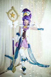 Miyuko Cosplayer as Janna/Star Guardian