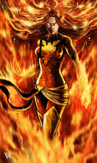 Dark Phoenix from Vinartworks
