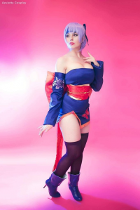 Azulette Cosplay as Ayane