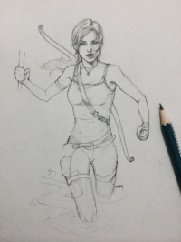 Lara Croft from Papurrcat