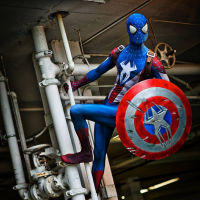 Chaos Prince Cosplay as Spider-Man/Captain America