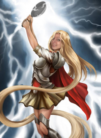 Princess Rapunzel/Thor from Thinking Makes It So