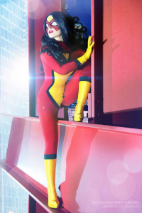 Jessica LG as Spider-Woman