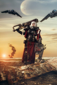 LolliLane Cosplay as Adepta Sororitas