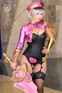 Alisyuon Cosplayer as Riven/Popstar