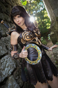 Svetlana Quindt as Xena