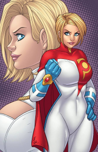 Power Girl from Jamie Fay