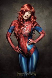 Charli Red Cosplay as Spider Girl/Mary Jane Watson
