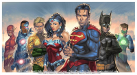 Batman, Superman, Wonder Woman, Green Lantern, The Flash from J-Estacado