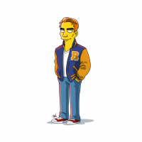 Archie Andrews/The Simpsons from Adrien Noterdaem