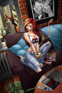 Mary Jane Watson from Lazerbat
