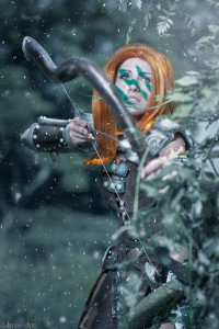Naoko Masaki as Aela the Huntress