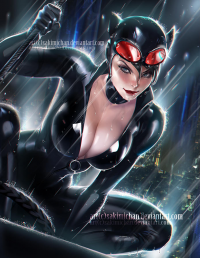 Catwoman from Sakimi Chan