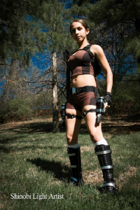 Domi as Lara Croft
